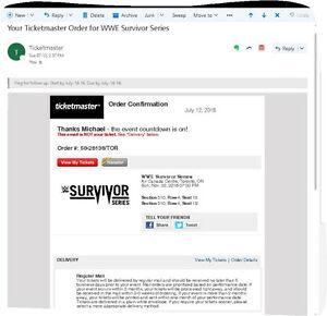 WWE Survivor Series tickets - Best Price Online