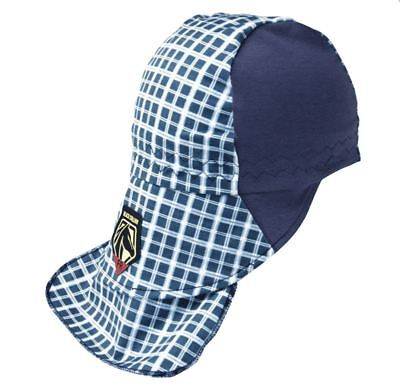 Revco Fr Welding Cap Hat Ah1730-bl S M L Black Stallion Stretch Hidden Bill Blue
