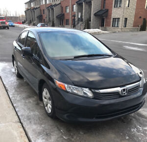 Honda civic 2012 low mileage to sell fast