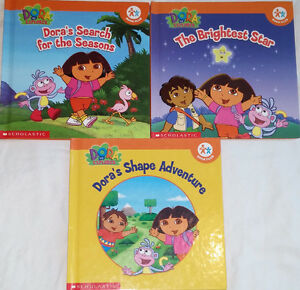 Qty 3 Sets of 3 Dora Hard Cover books London Ontario image 2