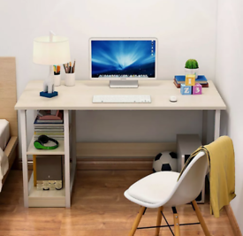 BRAND NEW! Boxed Office Desk with a bookshelf