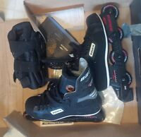 Bauer Roller Blades - Mens size 10  like new
