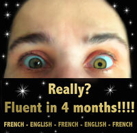 We teach English and French online and we do a fantastic job!