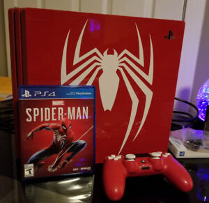 Limited Edition Spider-Man PS4 Pro