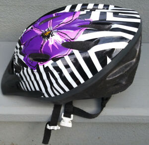 Casque de vélo pour fille
