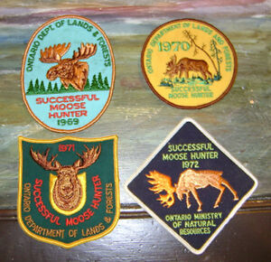 WANTED TO TRADE,BUY,SELL deer,bear,moose, hunting patches,lures Peterborough Peterborough Area image 8