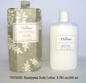 The Thymes Eucalyptus Body Lotion 8¾ oz plastic squeeze bottle