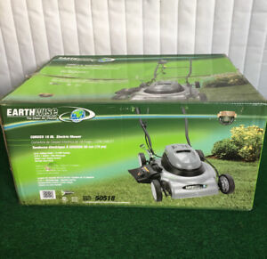 """18"""" 12Amp Corded Electric Lawn Mower. Brand New! - Earthwise"""