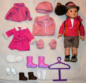Newberry Doll with Clothing