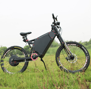 new 80kmh 5000 watts ebike stealth bomber killer 2019