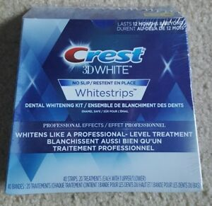 Crest  3D   WhiteStrips  -  Professional   Effects