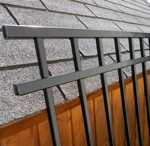 New 1/2 Panel of Iron Fencing / Wrought Iron / Metal Fence