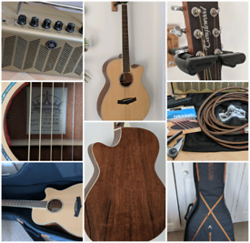 Tanglewood electro-acoustic guitar package + Yamaha THR5a amplifier