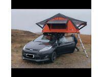 Tent box roof top tent
