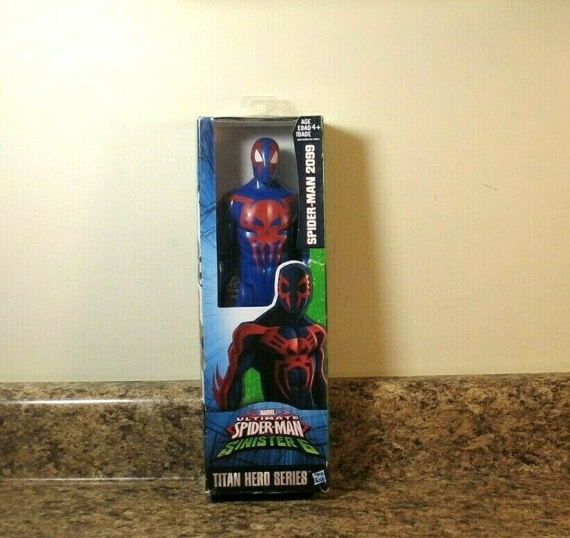 Marvel Spider-Man Titan Hero Series Spider-Man 2099 Figure