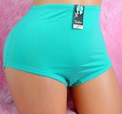 WAKOII Full cut PURPLE brief 8 colors stretchy nylon HIGH CUT Panties S M L XL