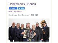 X1 Fisherman's Friends ticket