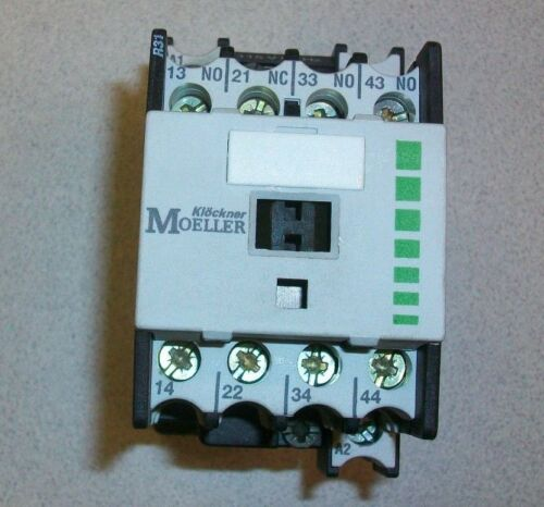 DIL R 31 DILR31 Klockner Moeller Contactor 115 volts 60 Hz