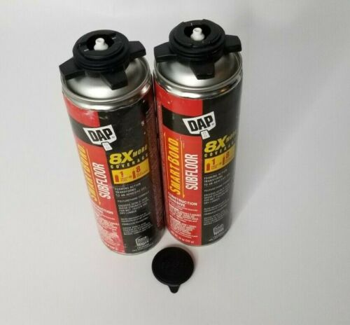 2pk DAP 20 oz. Smart Bond Construction Adhesive, Subfloor, (NEW NO CAPS)
