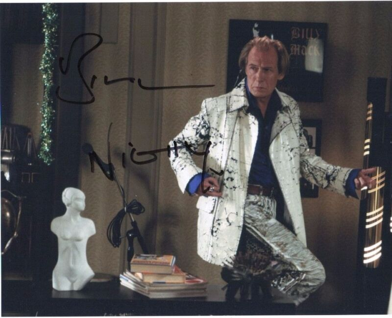 Bill Nighy Love Actually Autographed Signed 8x10 Photo COA #2
