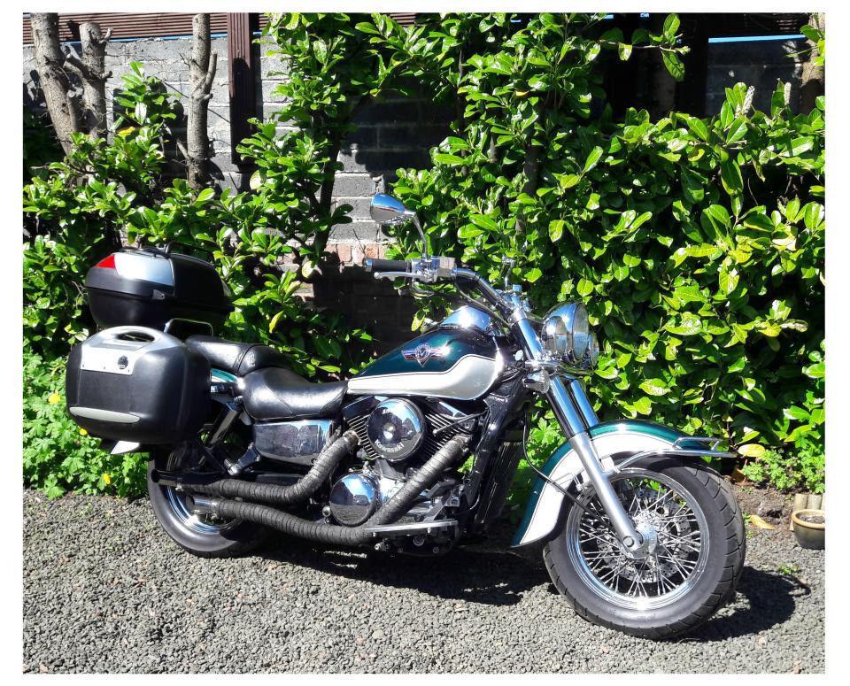 Kawasaki VN1500-D2 Classic Carb V.low miles MINT £4k Extras SWAP PX Harley FX Dyna XR1200x etc