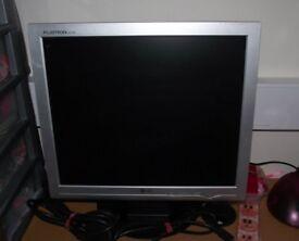 "17"" LG Flatscreen Computer Monitor"