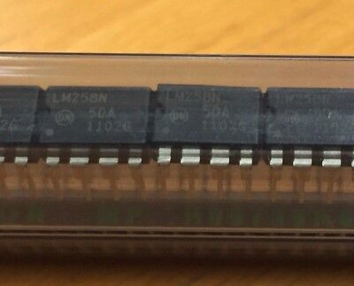 On Semiconductor Lm258n Icoperational Amplifierdualbipolardip8pin 5pcs