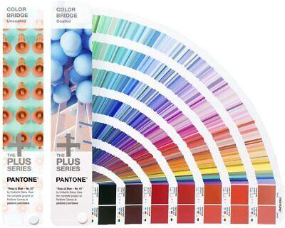 Pantone Gp6102n Color Bridge Set Guides Coated Uncoated New Sealed