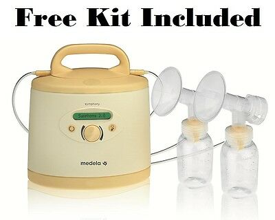 Medela Symphony Breastpump Double Electric Breast Pump #0240108 With FREE KIT