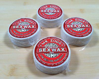 Sex Wax Warm Water Surfboard Shortboard Funboard Longboard 4 Pack