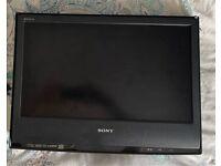 Sony TV and wall bracket