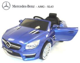 LICENSED MERCEDES SL63 AMG RIDE-ON TOY