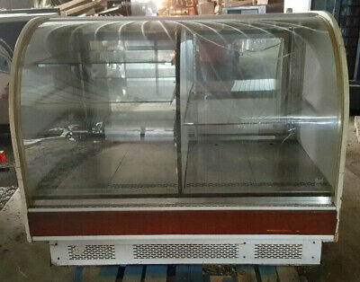 Regal Commercial Bakery Kitchen Light Display Cabinet Case Fixture Curved Glass
