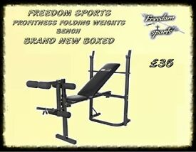 Pro Fitness Weights Bench BRAND NEW BOXED