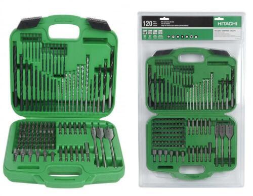 Hitachi 799962 120 Piece Drill Bit and Screwdriver Set, Impa