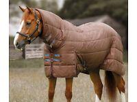 Brand new in bag Premier Equine 350g combo rug liner 6'3