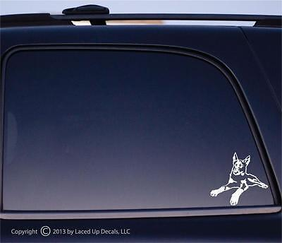 French Ring Sport (Beauceron dog Vinyl Decal,French Ring)
