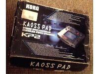 Korg Kaoss pad kp2