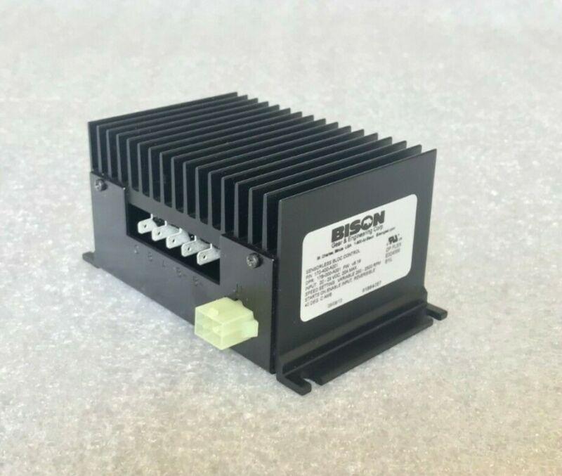 BISON (Gear & Engineering Corp.) Sensorless BLDC Control