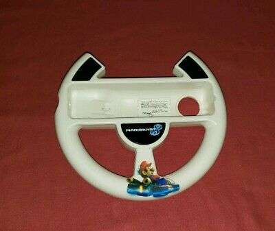 Mario Kart 8 Wii U Steering Wheel Nintendo Wii Racing, Very Good Condition