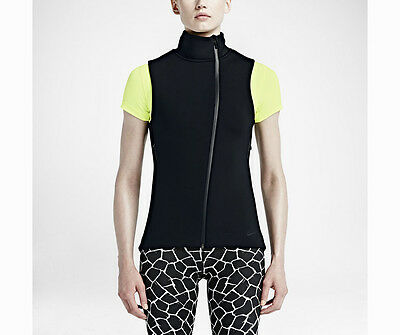 NWT $155 Womens Nike Therma Sphere Max Vest 718910 010 training black XS-XL