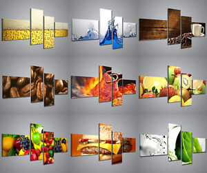 quadri moderni food drink stampe su tela per arredamento
