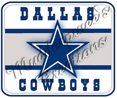 Dallas Cowboys Mouse Pad - Dallas Cowboys Office Supplies