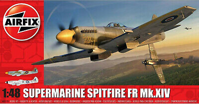 Airfix Supermarine Spitfire FR Mk.XIV 1:48 Plastic Model Airplane Kit A05135