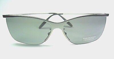 Porshe Design Italy P'8400 P Metal-Half-Rimmed P2002 B Unisex Sunglasses. (Porshe Design Sunglasses)