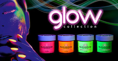 GLAM AND GLITS GLOW IN THE DARK ACRYLIC  NAIL POWDER . GET YOUR BEST
