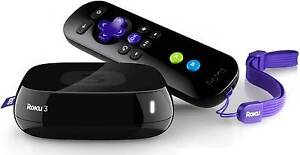 Roku 3 Internet HD TV Media Streaming Netflix Stan Showtime Hulu Docklands Melbourne City Preview