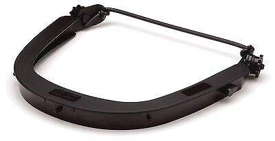 Pyramex Hhan Dielelectric Black Hard Hat Dielectric Face Shield Adapter 1 Ea