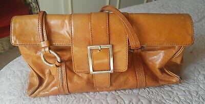 Kenneth Cole Tan Leather Handbag