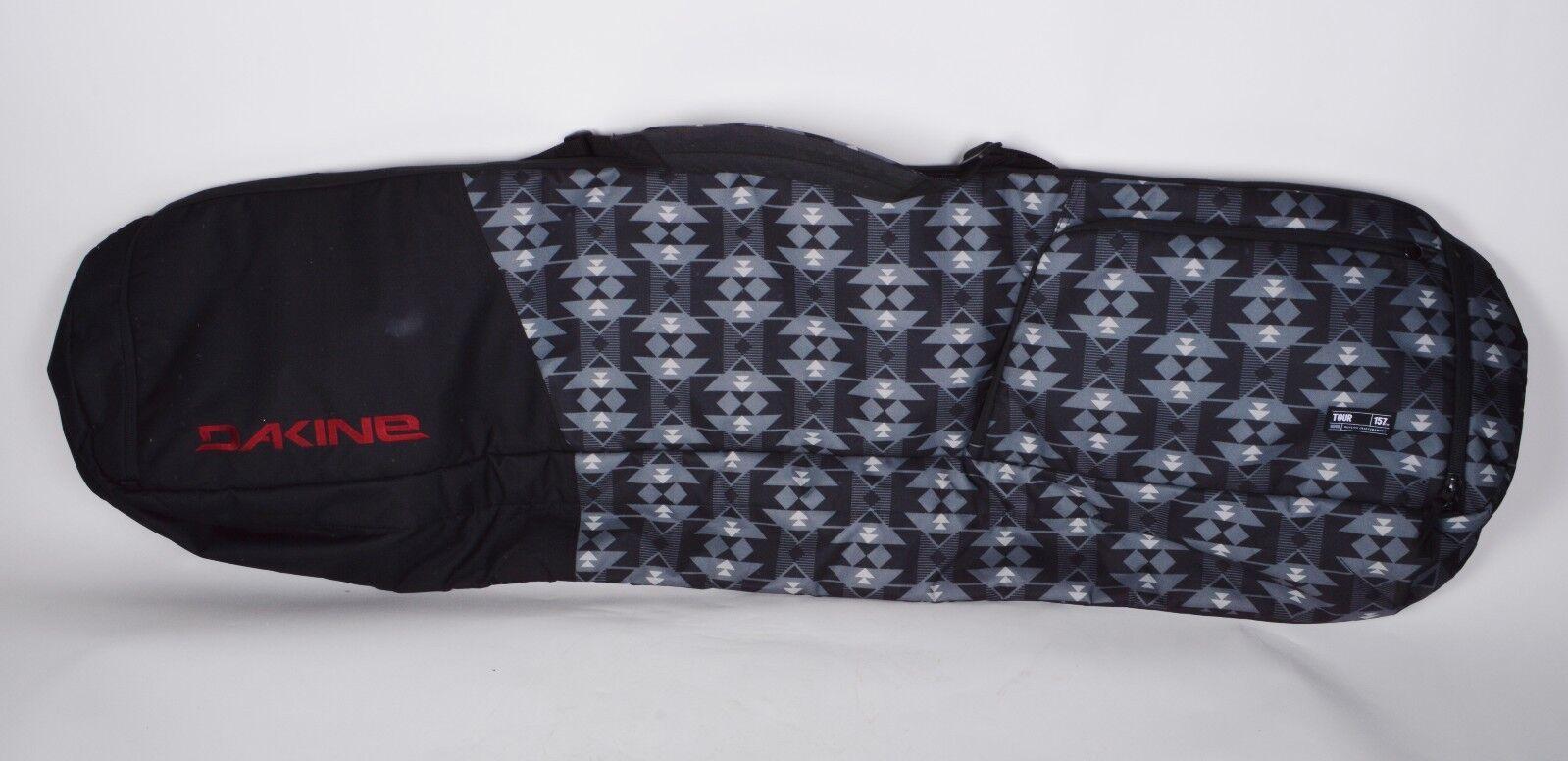 Details About Nwot Dakine Tour Snowboard Bag 90 Black Grey 157 Cm Long
